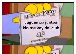 Enlace a Lionel... Messi
