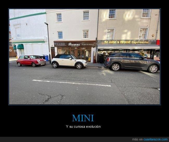 coches,mini,tamaño