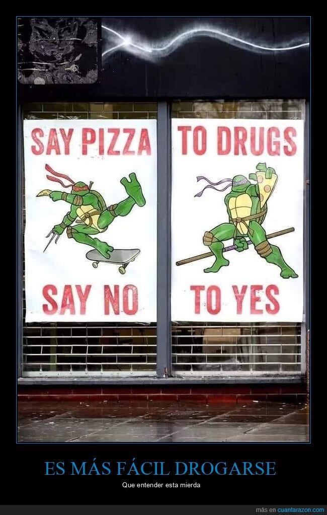 carteles,drogas,fails,pizza,tortugas ninja