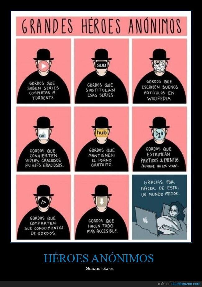 gordos,héroes,héroes anónimos