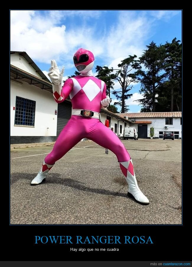 paquete,power ranger,wtf