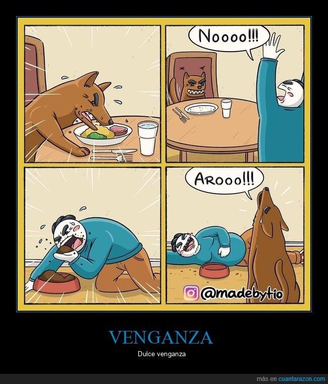 comida,perros,venganza