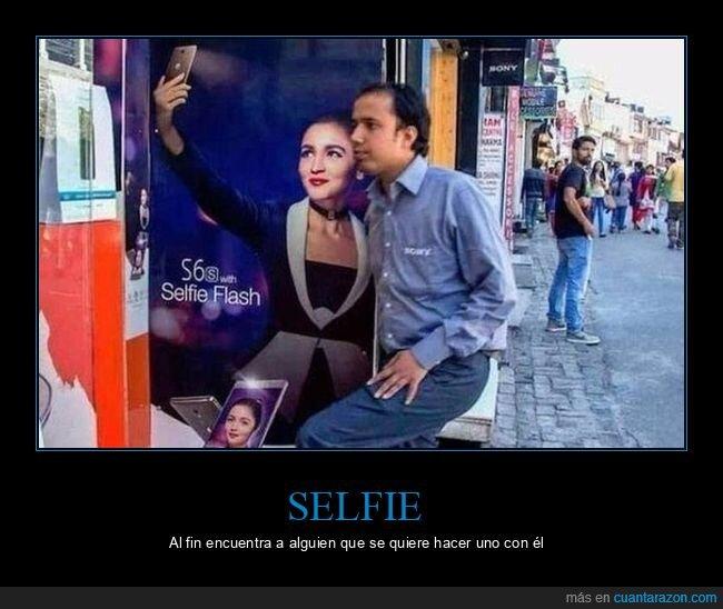 anuncio,selfie