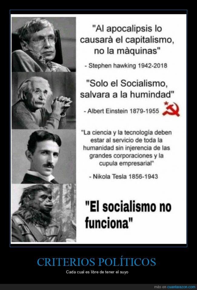 criterio,política,socialismo