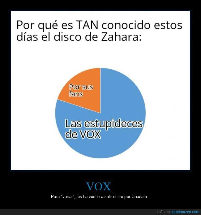 disco,polémica,políticos,virgen,vox,Zahara
