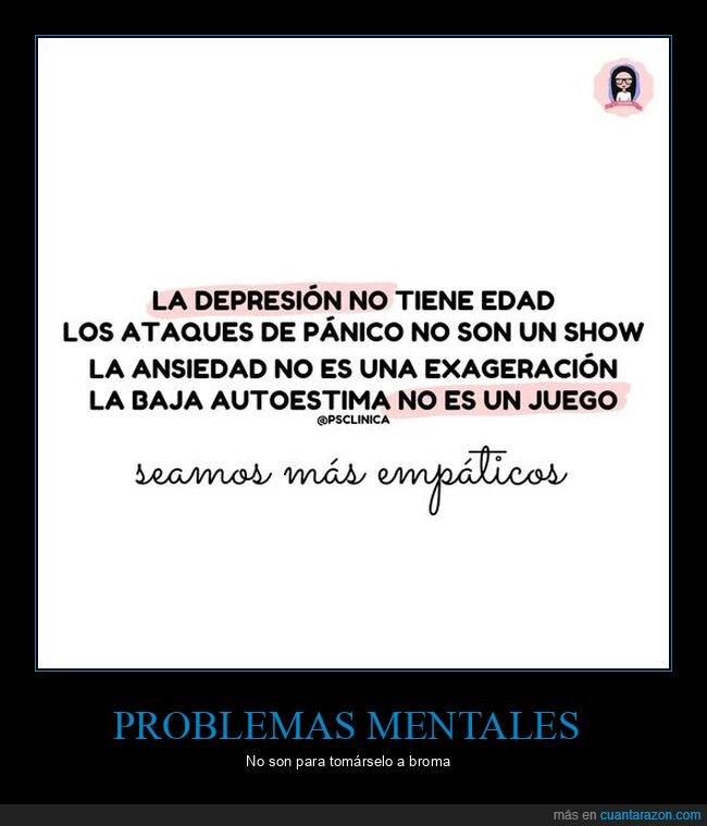 ansiedad,autoestima,depresión,empatía