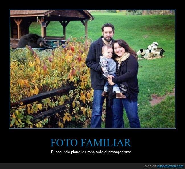 familia,foto,oso,stormtrooper,wtf