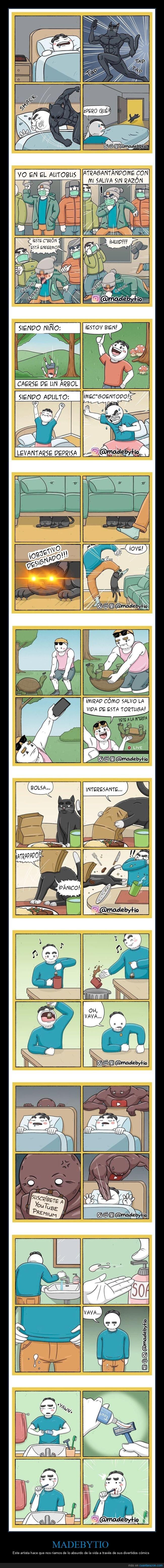 cómics,madebytio