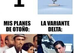 Enlace a Memes tristes pero graciosos que describen perfectamente nuestros planes para otoño vs la variante Delta