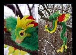 Enlace a El peluche de Baby Quetzalcóatl