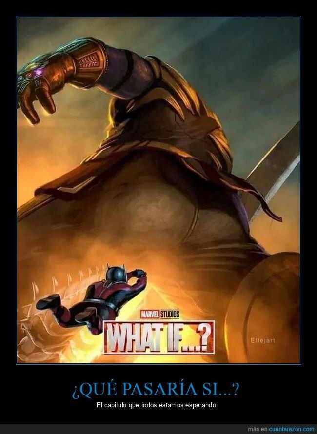 AntMan,Marvel,Thanos,What if