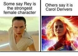 Enlace a El personaje femenino más fuerte