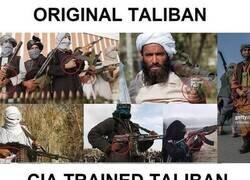 Enlace a Talibanes originales VS Talibanes entrenados