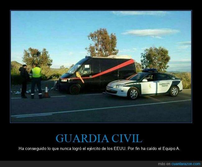 equipo a,guardia civil