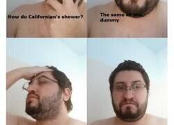 Enlace a Gente de distintos países mostrando como se duchan