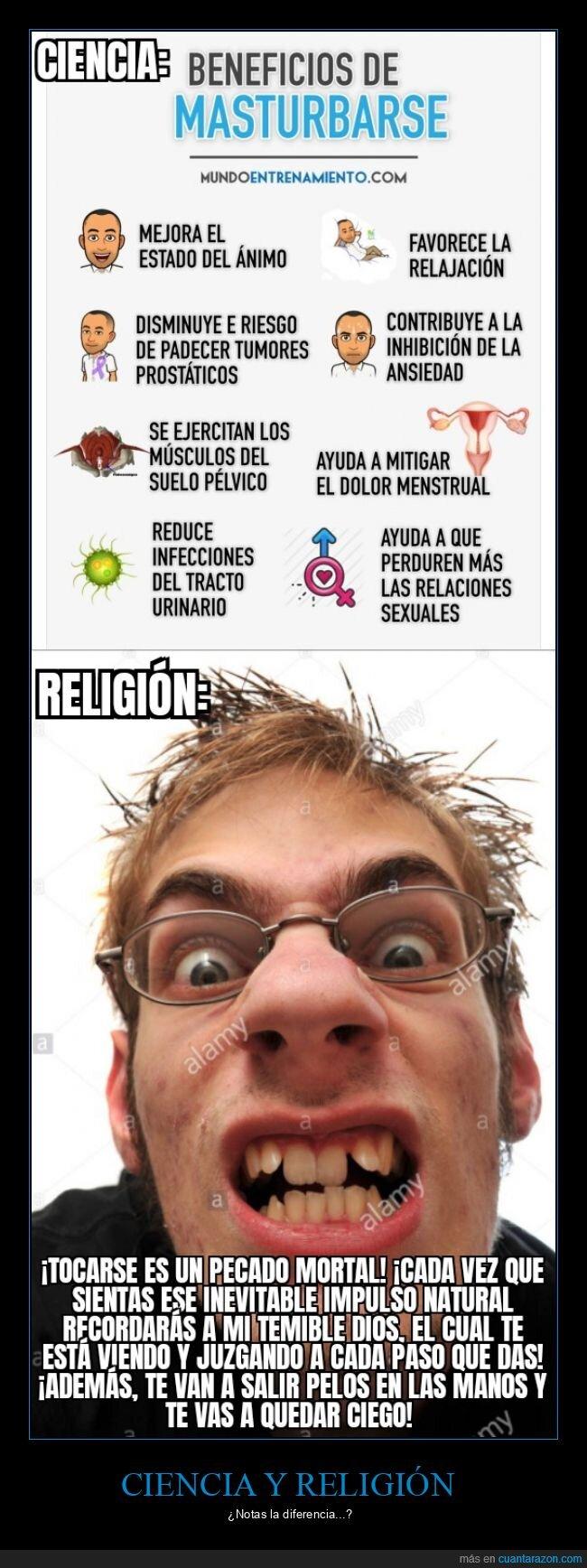 ciencia,pecado,religión