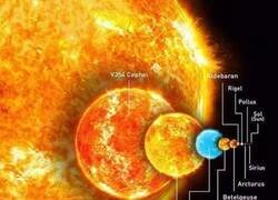 Enlace a Nuestro sol es una mota de polvo en el Universo