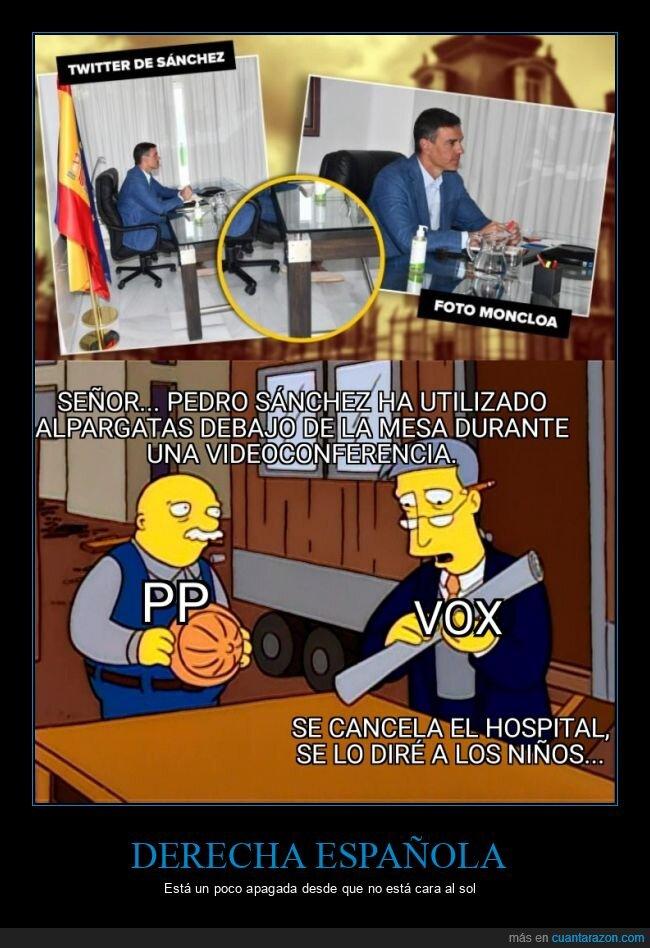alpargatas,Pedro Sánchez,políticos
