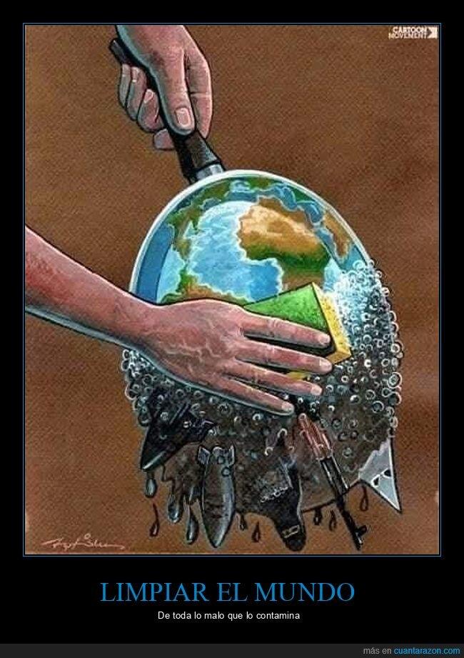 limpieza,mundo
