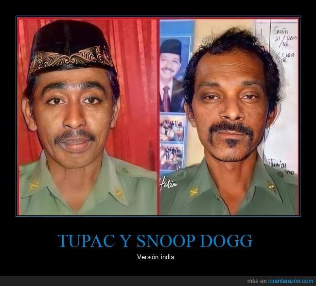 indios,parecidos,snoop dogg,tupac