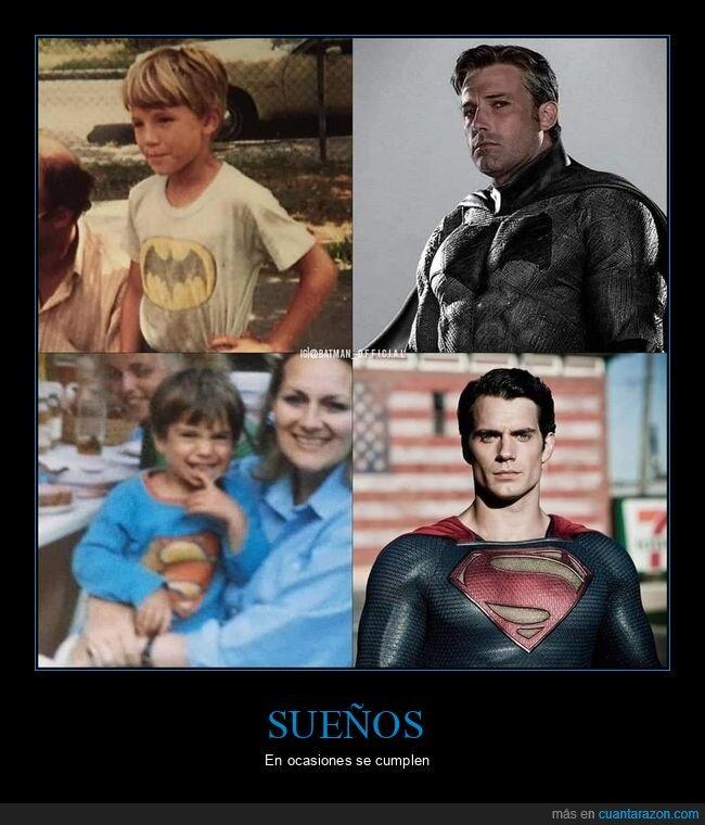batman,ben affleck,henry cavill,niños,superman
