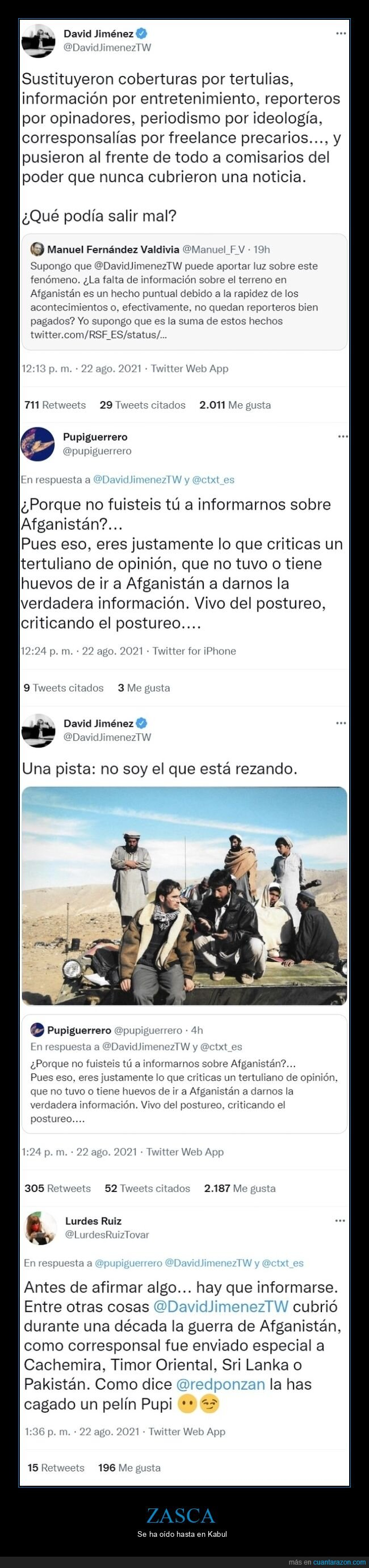 afganistán,informar,zasca