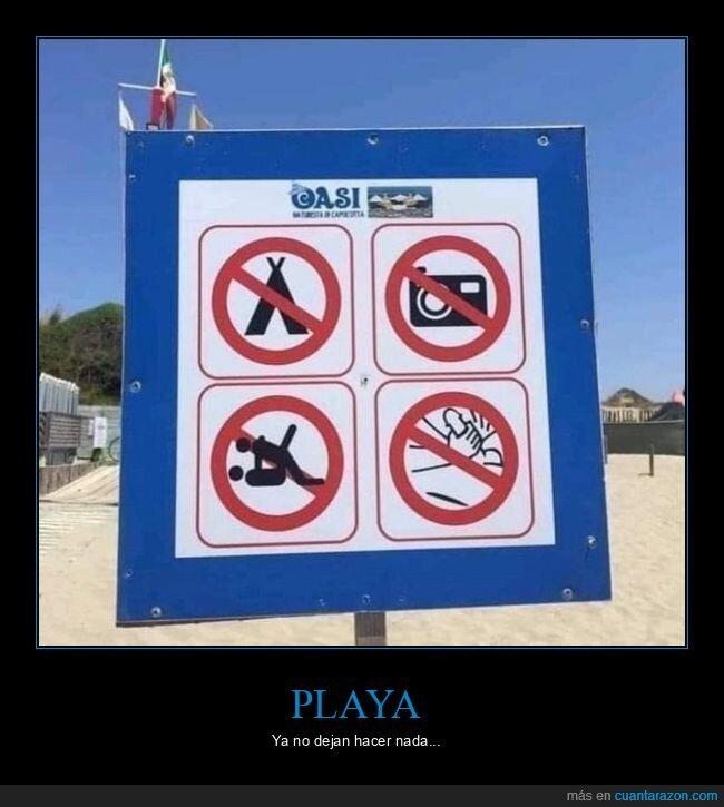 cartel,playa,prohibiciones,wtf