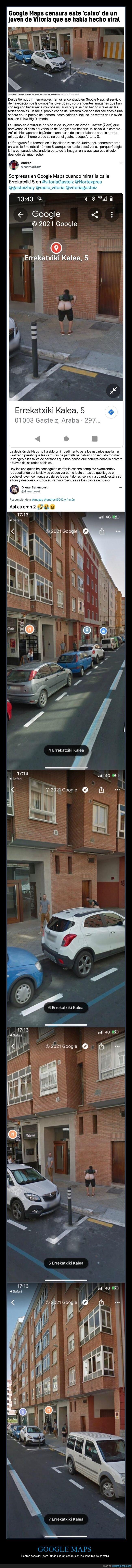 calvo,censura,google maps