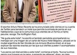 Enlace a Este hotel cuenta con la bendición de Arturo Pérez-Reverte