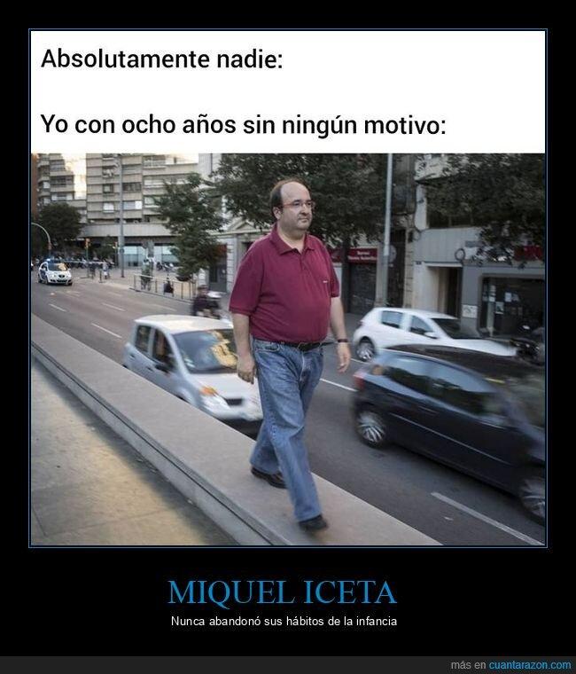 Miquel Iceta,ocho años,políticos