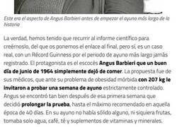 Enlace a Angus Barbieri, el hombre que hizo el ayuno más largo de la historia: 382 días sin comer