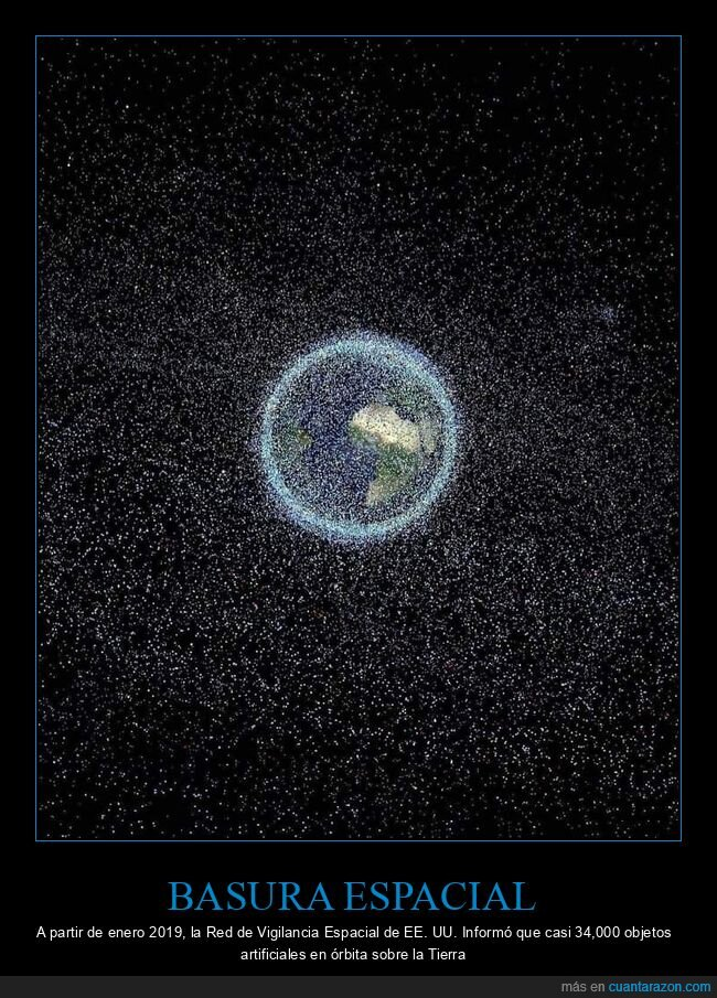 basura,espacial