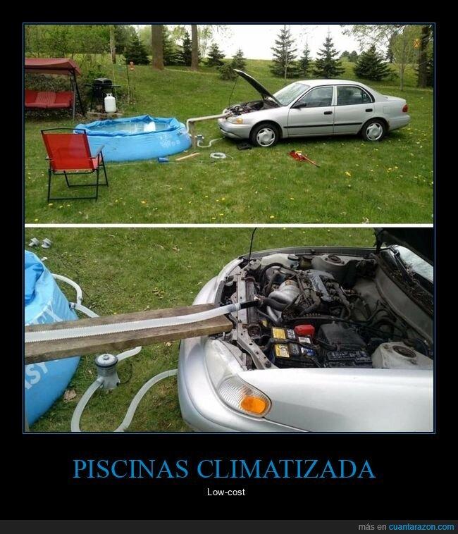 climatizada,coche,piscina,wtf