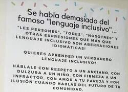 Enlace a Lenguaje inclusivo en serio