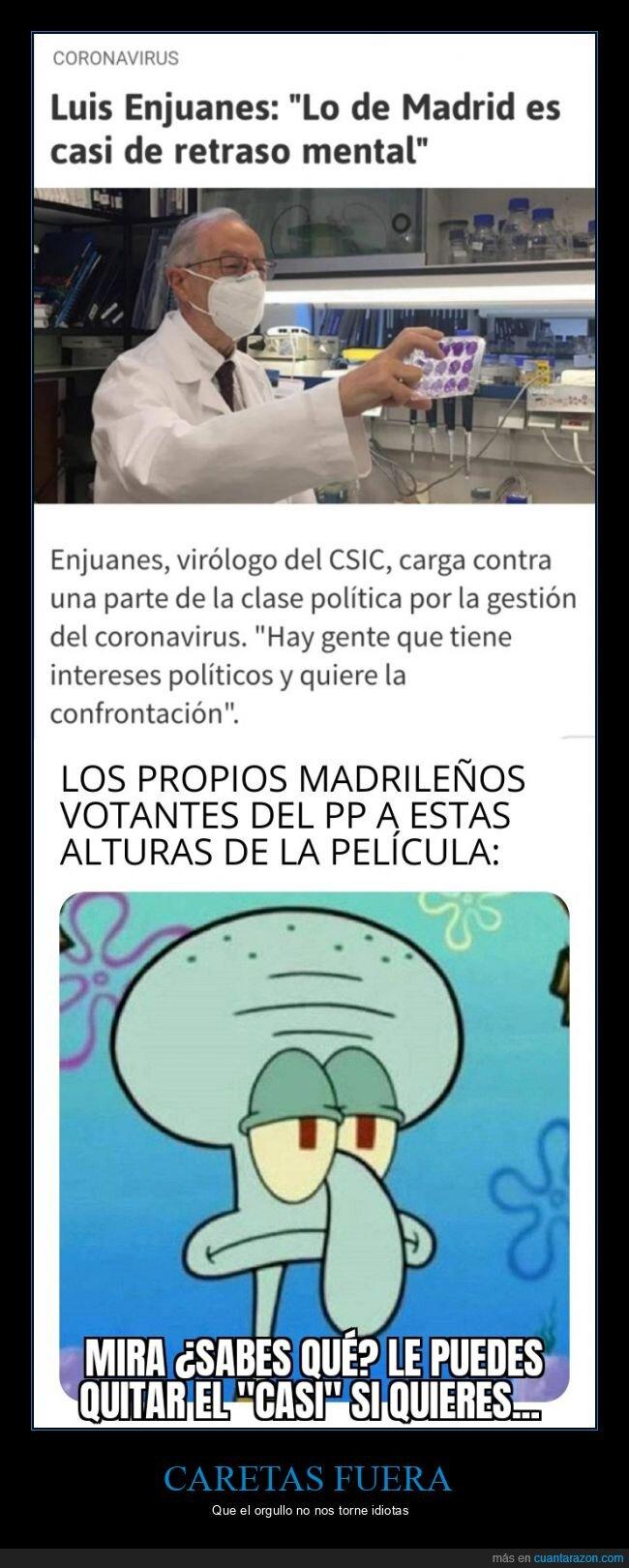 madrid,políticos,virólogo