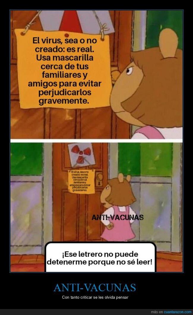 anti-vacunas,coronavirus,covid,leer,virus
