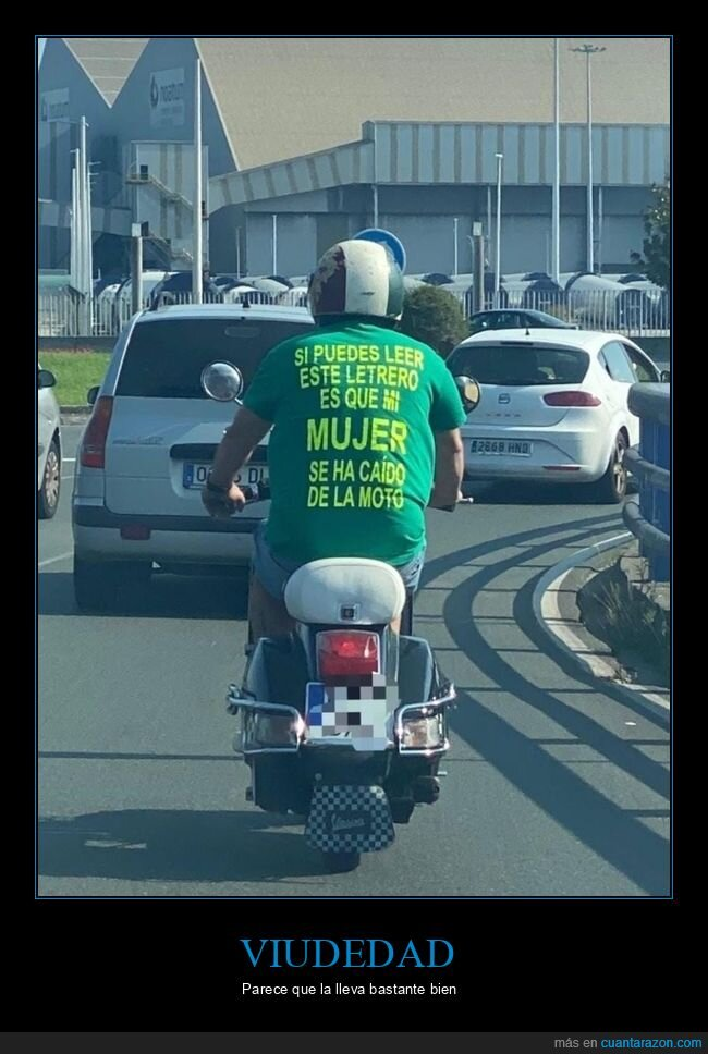 caer,camiseta,moto,mujer