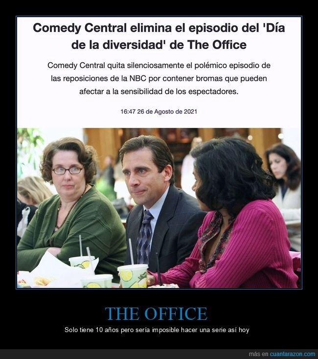 día de la diversidad,eliminar,episodio,the office
