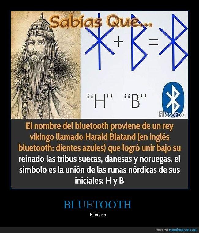 bluetooth,curiosidades,harald blatand,rey,vikingo