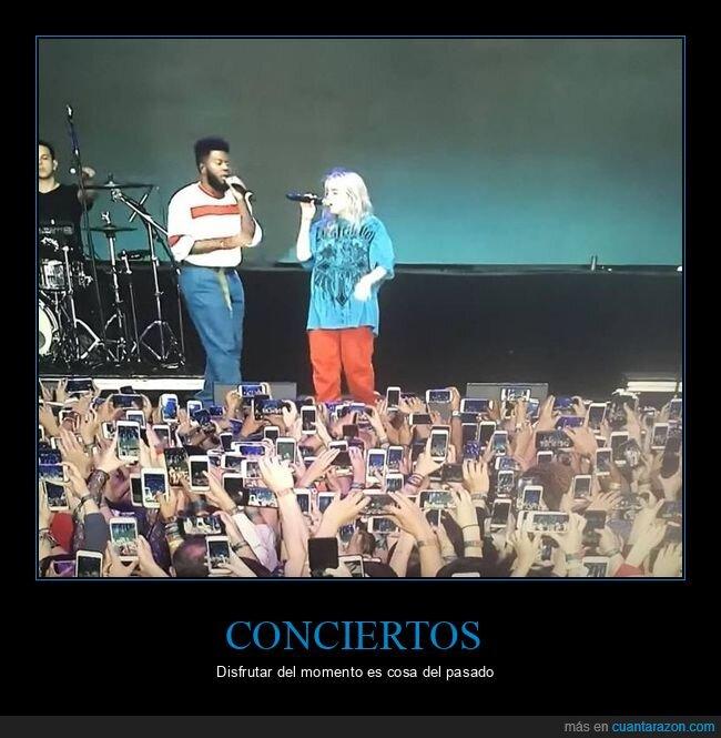 concierto,móviles