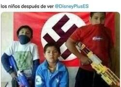 Enlace a Cachondeo en redes con Disney+ por su contenido sobre Hitler