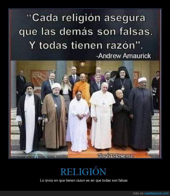falsas,religión