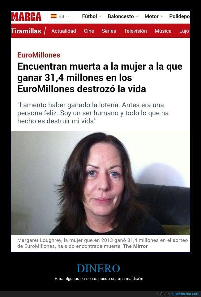euromillón,ganadora,muerta