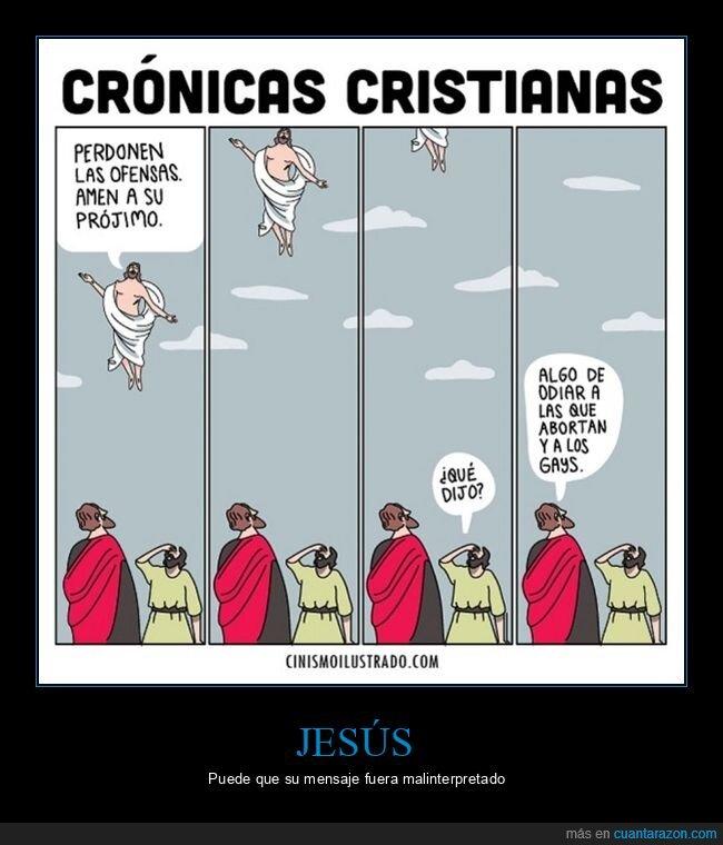 aborto,amar,gays,jesús,odiar,perdonar