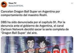 Enlace a Dragon Ball Super ha sido cancelada en Argentina