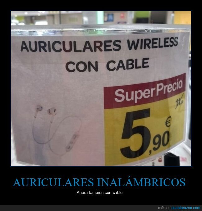 auriculares,cable,wireless,wtf