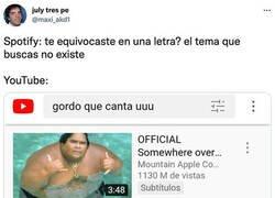 Enlace a Gracias, Youtube