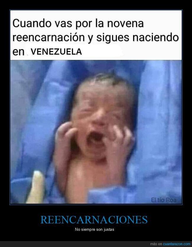 bebé,reencarnación,venezuela