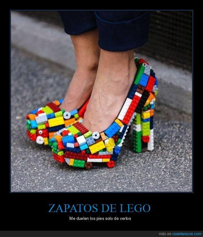 lego,wtf,zapatos