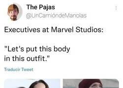 Enlace a Qué cosas tienen los ejecutivos de Marvel...
